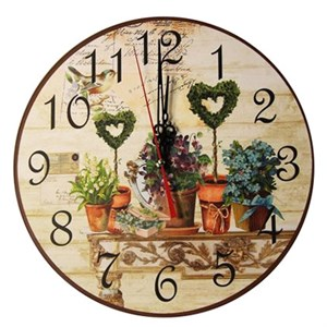 "Часы настенные ""Цветочный натюрморт"""