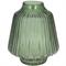 Ваза стеклянная зеленая - фото 23668