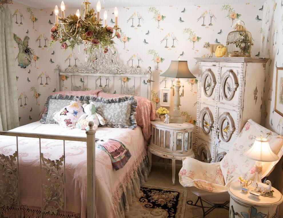 комната для девочки в стиле прованс
